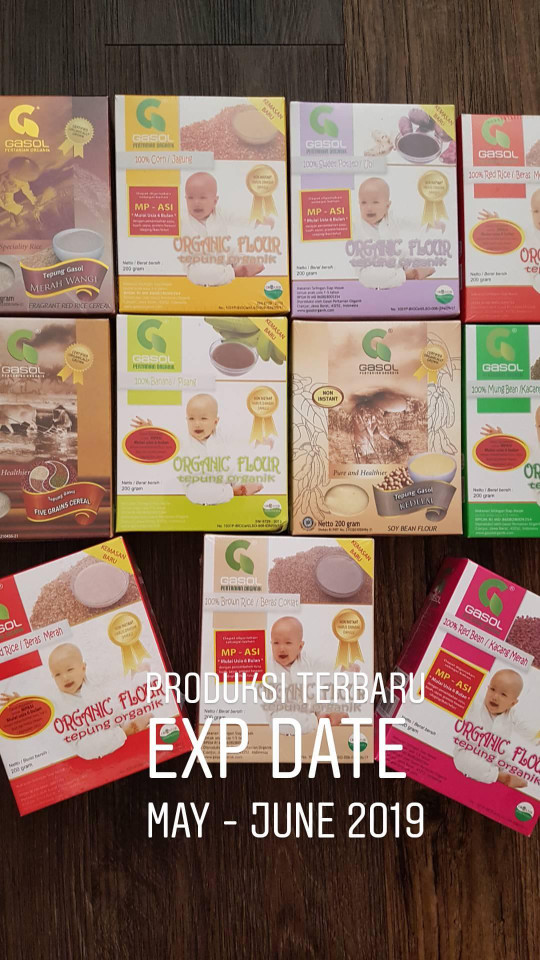harga Tepung gasol organic / makanan mpasi bayi / bubur bayi organic Tokopedia.com