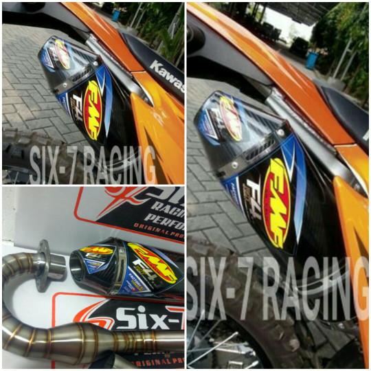 harga Knalpot racing klx 150 /s /l /bf /d'tracker fmf f4 carbon Tokopedia.com