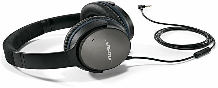 harga Bose quietcomfort qc25 headphone black Tokopedia.com