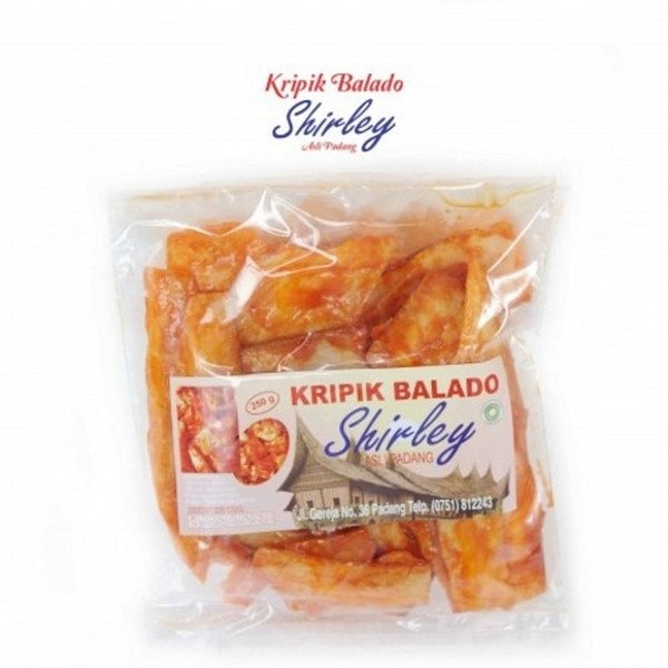 harga Keripik singkong balado sanjay shirley 250 gr Tokopedia.com