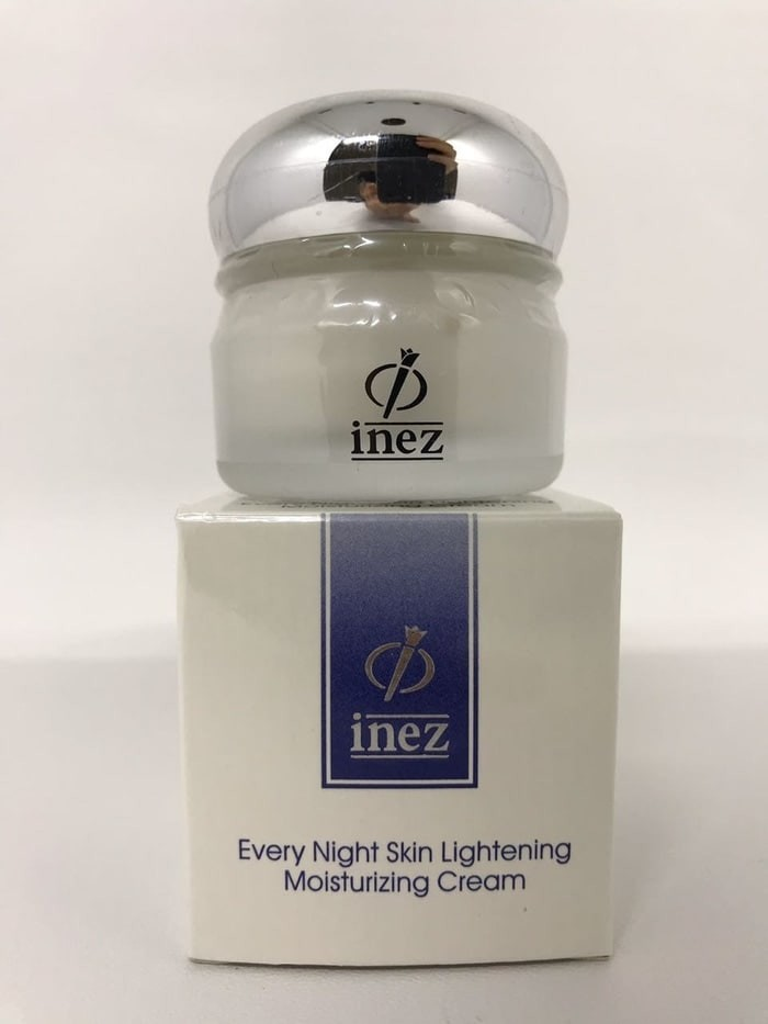 Inez every night skin lightening moisturizing cream krim malam 28 gr