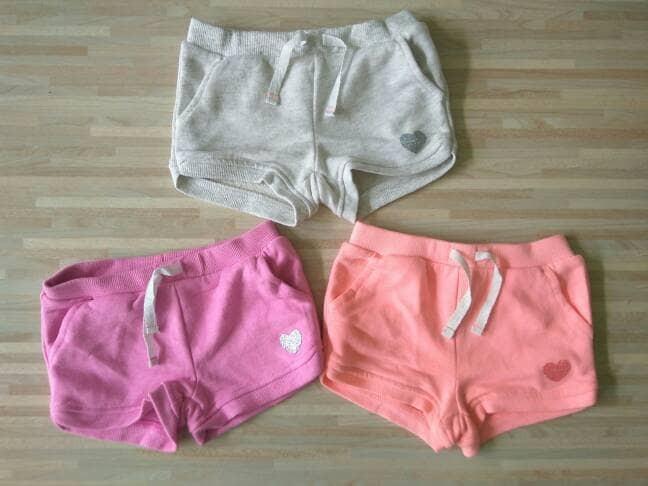 harga Celana pendek anak branded original oshkosh polos love / hot pant anak Tokopedia.com