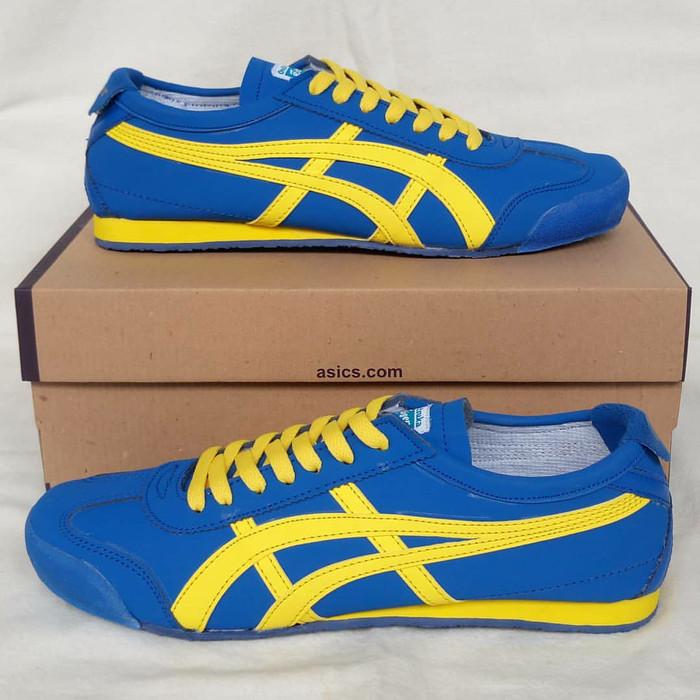 Jual Sepatu Asics Onitsuka Tiger Blue Sweden - Sneakers Joss  1d51328829de