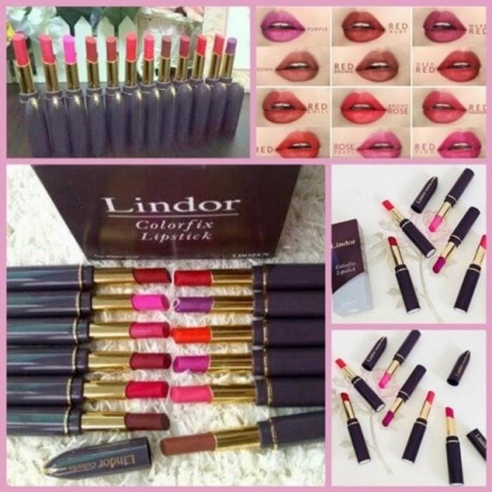 harga Lipstick lindor colorfix [hrga per lusin=12warna] Tokopedia.com