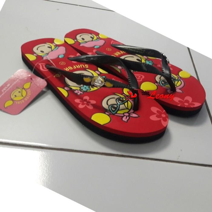 harga Toko leony sandal jepit surfer girl sgl 484 by ando Tokopedia.com