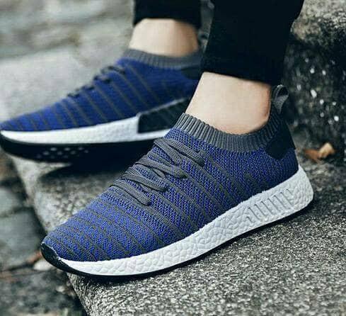 Adidas NMD R2 New / Sepatu Pria Cowo / Sneakers Running Lari Olahraga