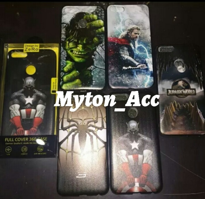 Softcase MARVEL VIVO Y53 3D Motif Super Hero Soft Case