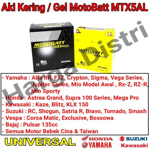 Info Aki Kering Motor Mio Travelbon.com