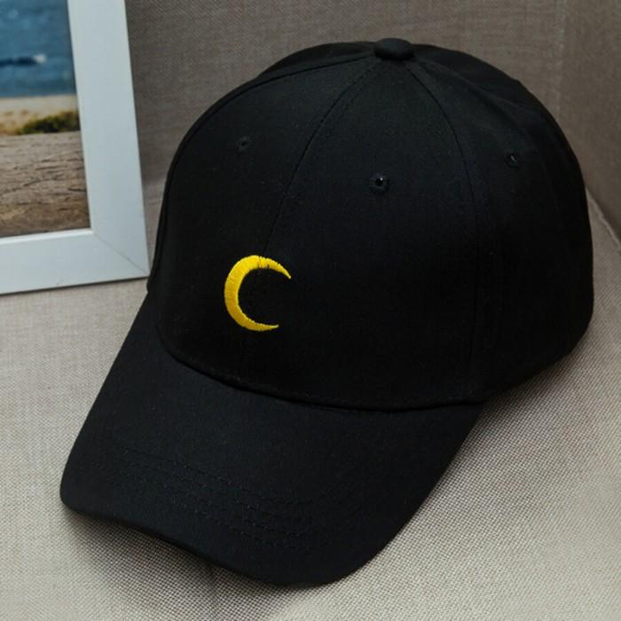 harga A53 topi anime sailor moon japan baseball cap import  harajuku - black Tokopedia.com