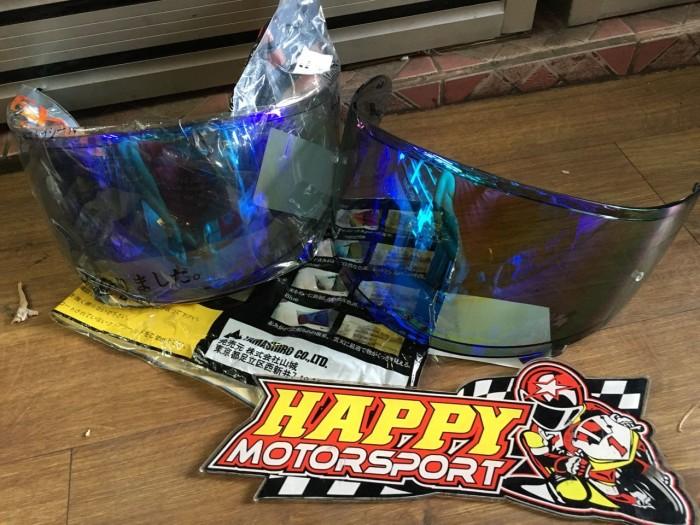 Foto Produk Visor Irridium khusus Shoei X14/Z7 warna irridium blue by Yamashiro dari Happy MotorsportKadipiro