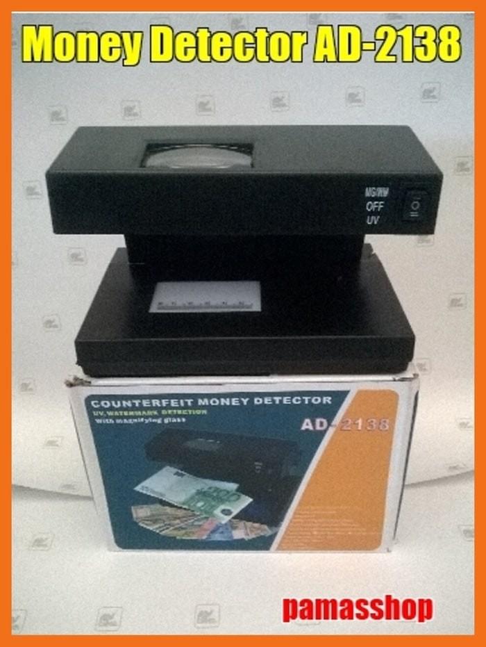 harga Money Detector Ad-2138 + Kaca Pembesar Tokopedia.com