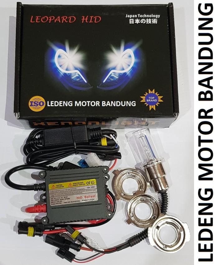harga Hid motor 4300k 6000k 8000k lampu depan xenon universal h4 h6 12v 35w Tokopedia.com