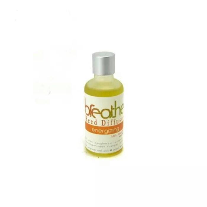 [GA893] BREATHE Refill Reed Diffuser Minyak Aromaterapi 50 ml Jeruk