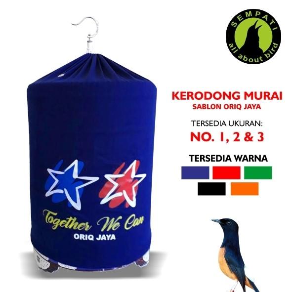 harga Kerodong sangkar burung murai lomba sablon no.1,2,3 oriq jaya ja18 Tokopedia.com