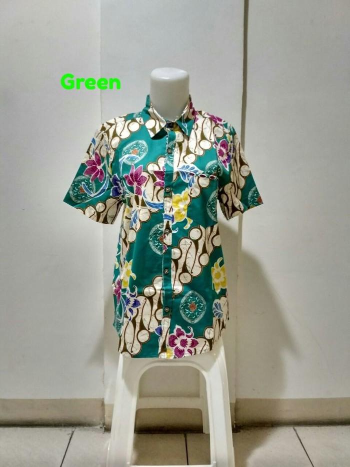 Baju atasan pria - kemeja pria batik modern - kemeja cowok