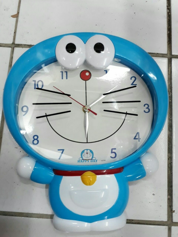 Jual Jam Dinding Doraemon Keropi full body - pryscliafancy  706b1da304