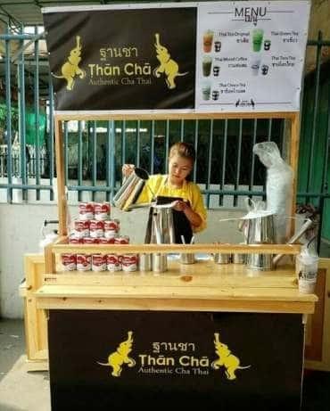 harga Booth Rombong Gerobak Minuman Thai Tea Full Kayu Jati Londo Tokopedia.com