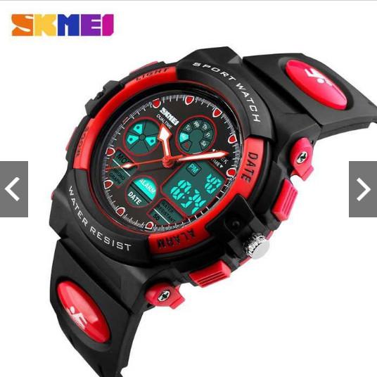Jam tangan anak / skmei ori / skmei 1163 red