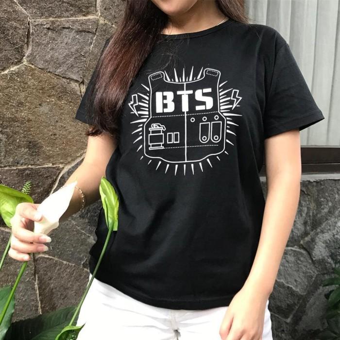 ... harga Baju kaos bts for cewek tumblr tee cewe t-shirt cotton Tokopedia.com
