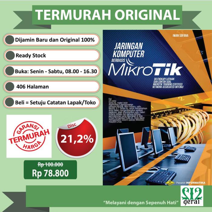 harga Termurah original bestseller jaringan komputer berbasis mikrotik Tokopedia.com
