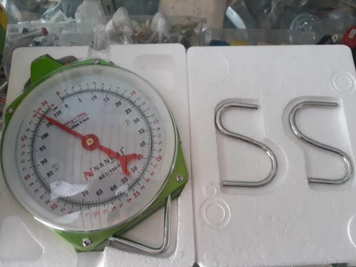 Timbangan Gantung Jarum / Manual / Analog Kapasitas 25Kg, 50Kg, 100Kg