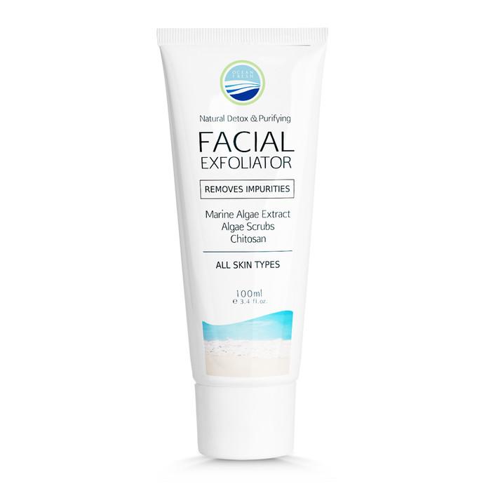 Facial exfoliator - skin cells regeneration 100ml tube - ocean fresh