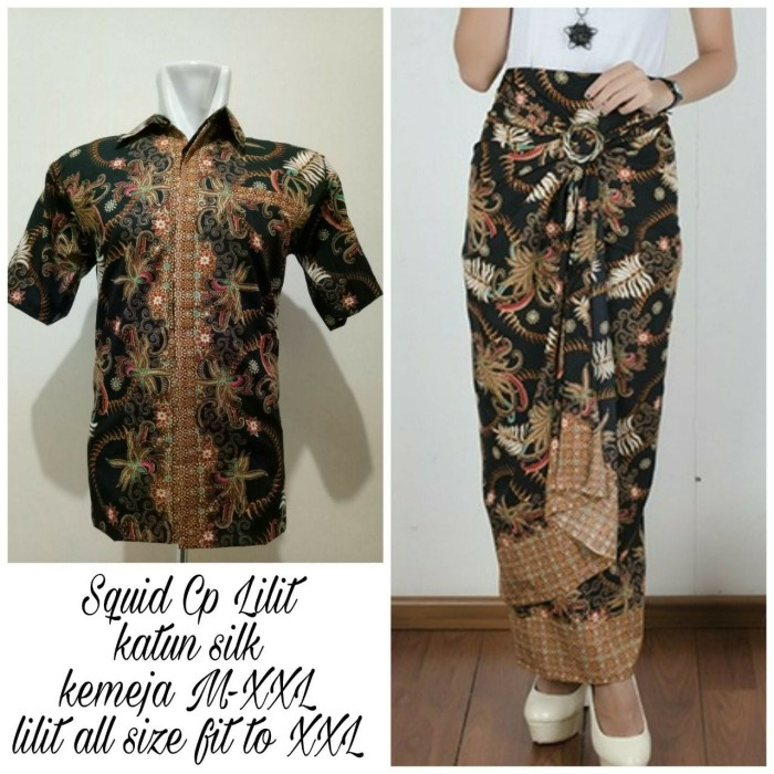 Rok Batik Dan Kemeja: Jual SB Collection Couple Rok Lilit Jumbo Sania Maxi Dan
