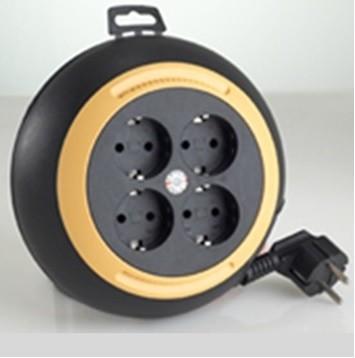 Kabel Roll Welto Mini 4 Lubang 6M - YUNIOR LY 105R6