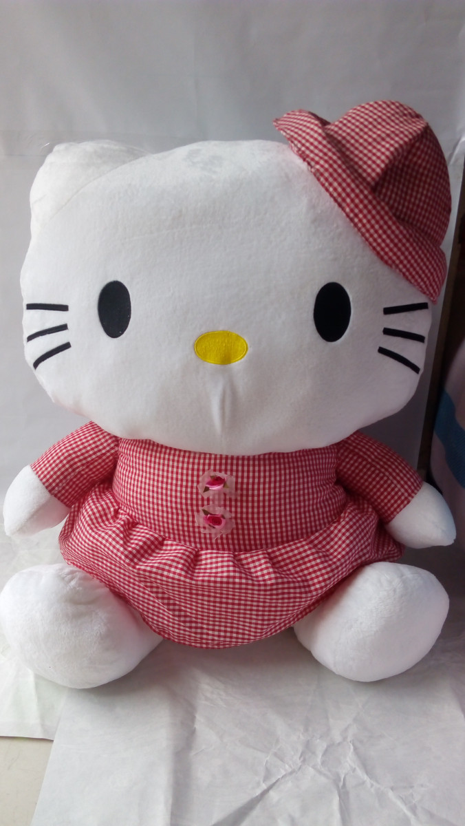 Jual Boneka Hello Kitty Jumbo Cempakaboneka Tokopedia Keropi