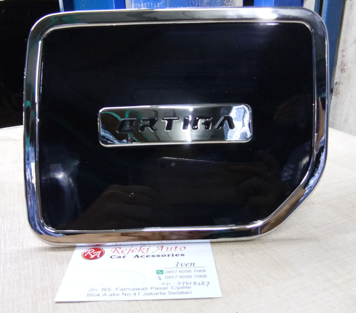 harga Tank cover tangki tutup bensin suzuki ertiga black luxury foxco Tokopedia.com