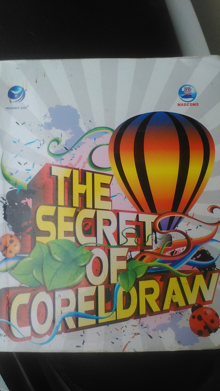 Jual BUKU THE SECRET OF COREL DRAW Kab Lebak Orion Hanf Ne Stpre