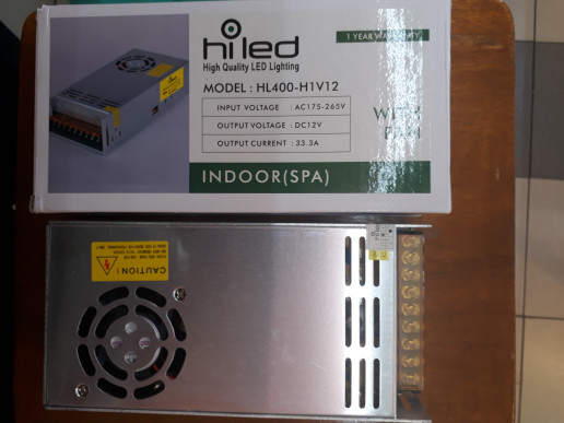 harga Hiled power supply 12v-33.3a indoor fan Tokopedia.com