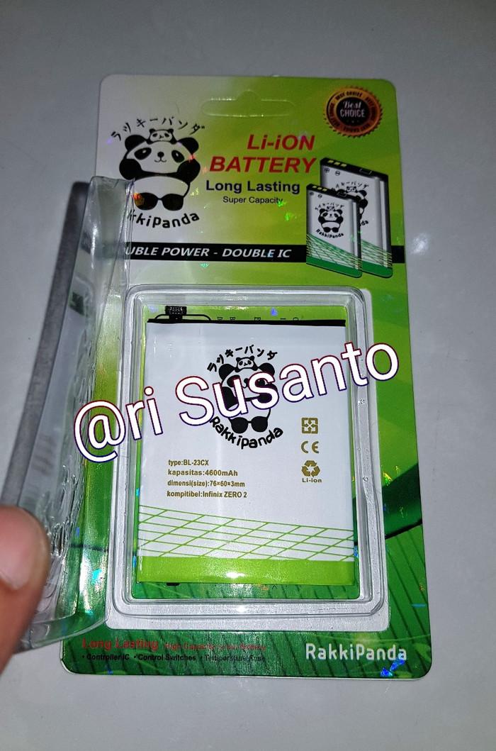 harga Baterai rakkipanda infinix zero 2 x509 bl-23cx double power 4600mah Tokopedia.com