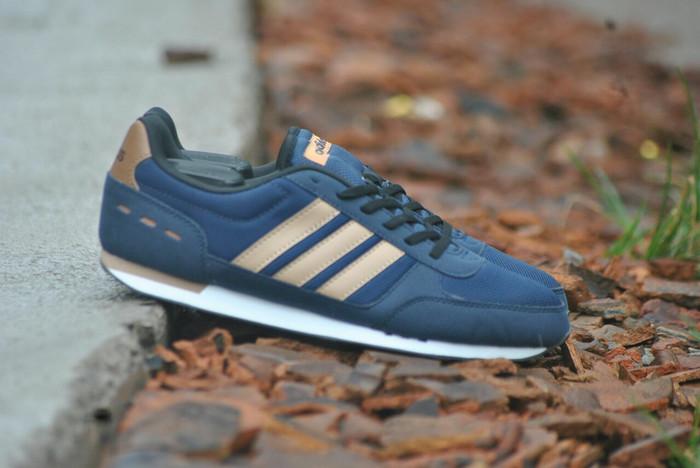 ... 50% off sepatu adidas neo city racer original navy krem sepatu sport  shoes 3558b 4632e 1c53efe622