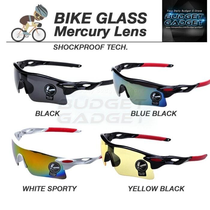 Foto Produk Kacamata Sepeda Olahraga Polarized - White/Red dari hittastore