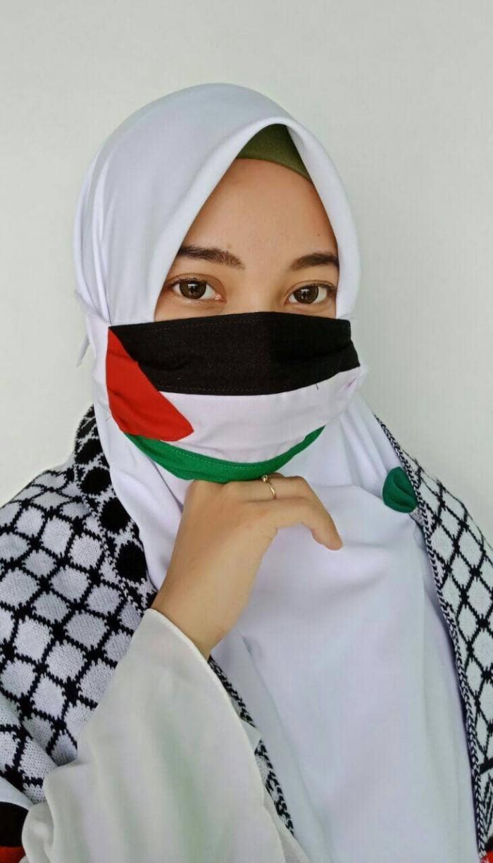 Jual Masker Palestina Saqueenah Hijab Tokopedia