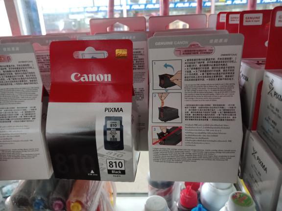 Jual canon pixma pg 810 black catridge tinta original