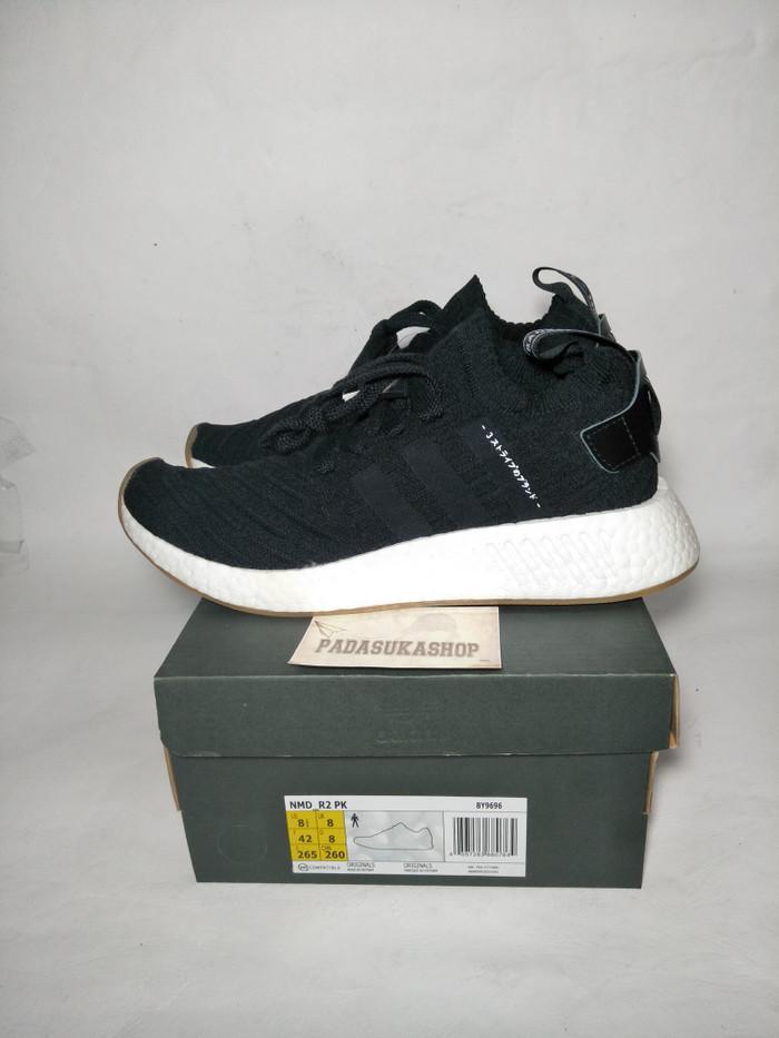 885baa5e68454 Jual sepatu adidas nmd r2 japan black white unauthorized authentic ...