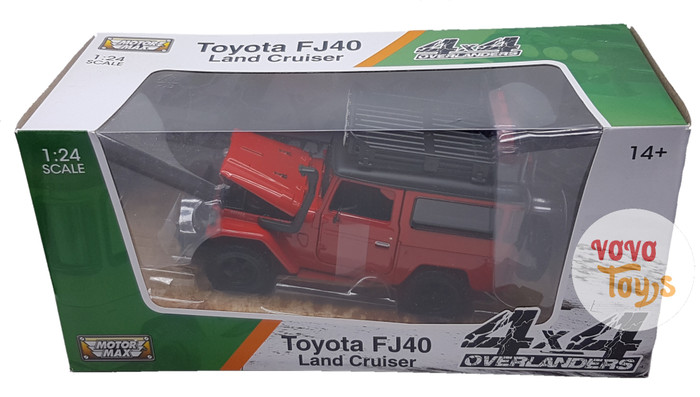 harga Motor Max 1:24 Toyota Fj40 Land Cruiser 4x4 Overlanders Red Tokopedia.com