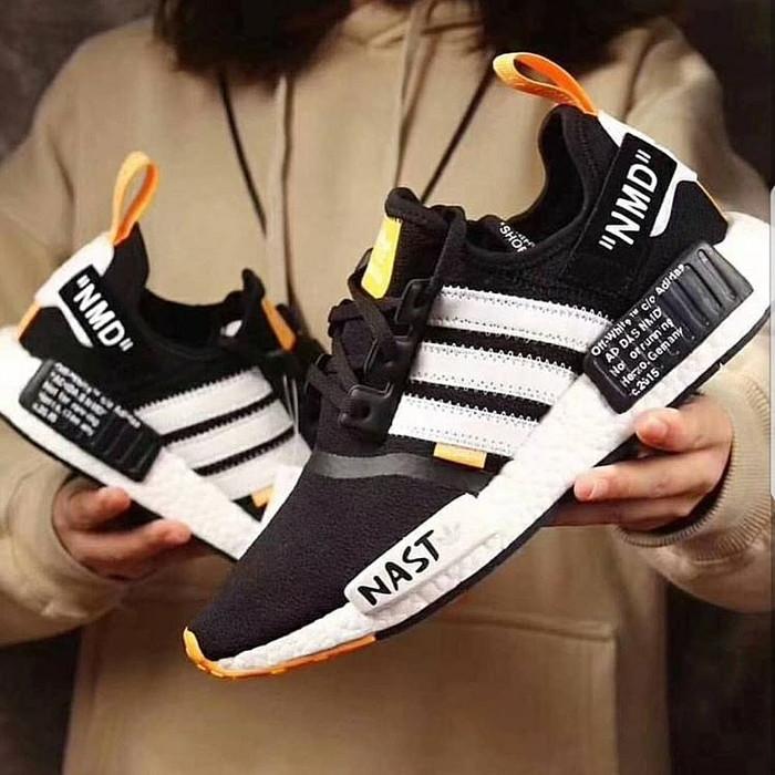 Adidas NMD R1 Premium sepatu pria sepatu adidas sneakers pria murah 5a16a712c1