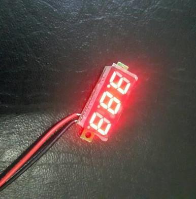 Foto Produk micro volt meter 0.28inchi (merah, kuning) - Merah dari versus box mod supply