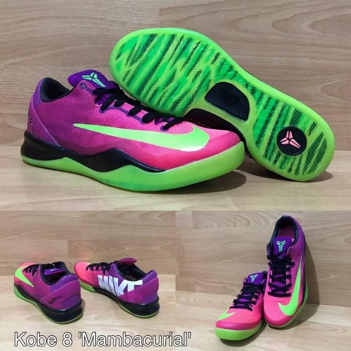 new product 6d5c7 0c657 Sepatu basket kobe 8 mambacurial pink green merah muda hijau