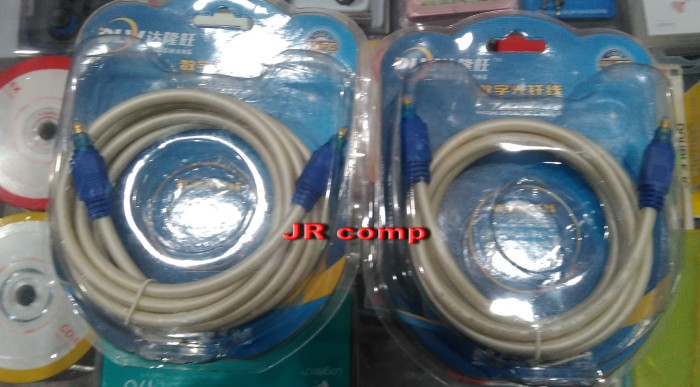 harga Kabel optik digital audio 2 mtr (untuk home theater / hdtv) Tokopedia.com