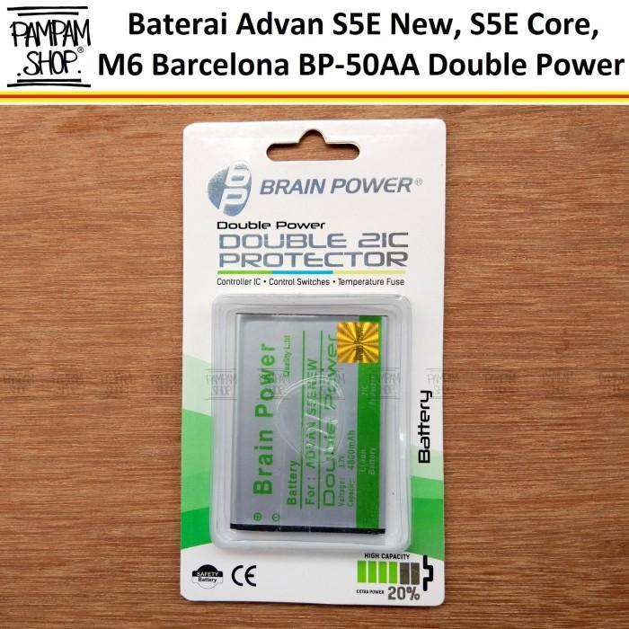 harga Baterai handphone advan bp50aa bp-50aa original double power batre