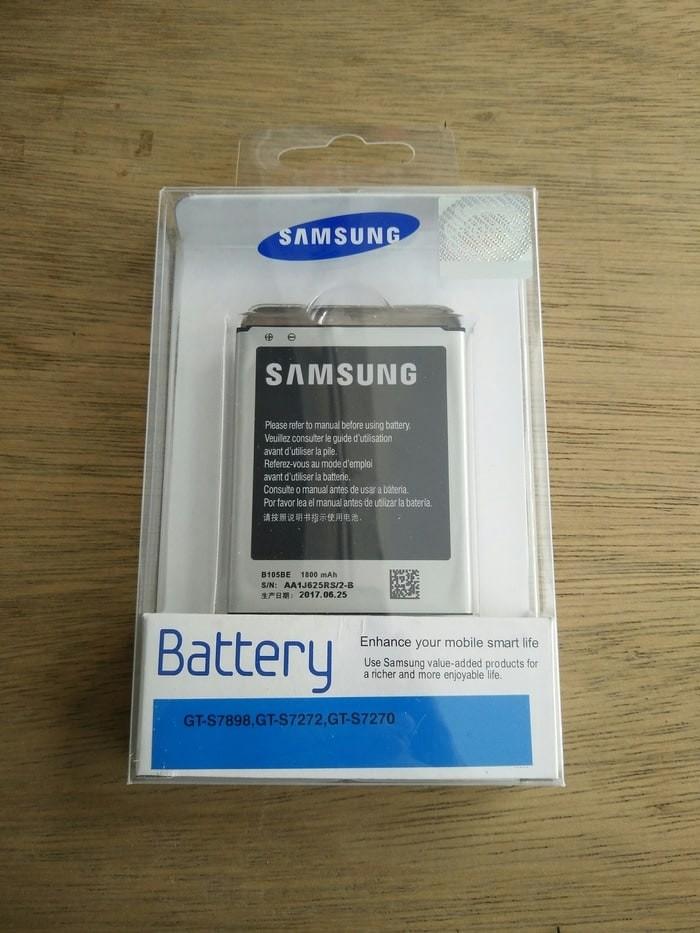 harga Baterai original 100% - samsung galaxy ace 3 (s7270) (1.800mah) Tokopedia.com
