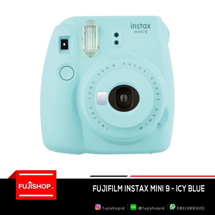 harga Fujifilm instax mini 9 - icy blue Tokopedia.com