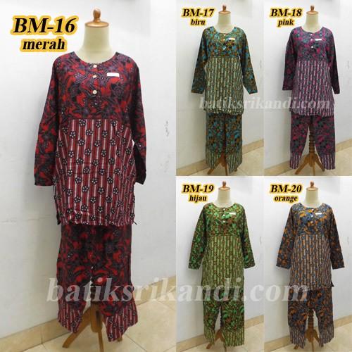 harga Baju setelan panjang /babydoll / piyama / pajamas batik solo Tokopedia.com