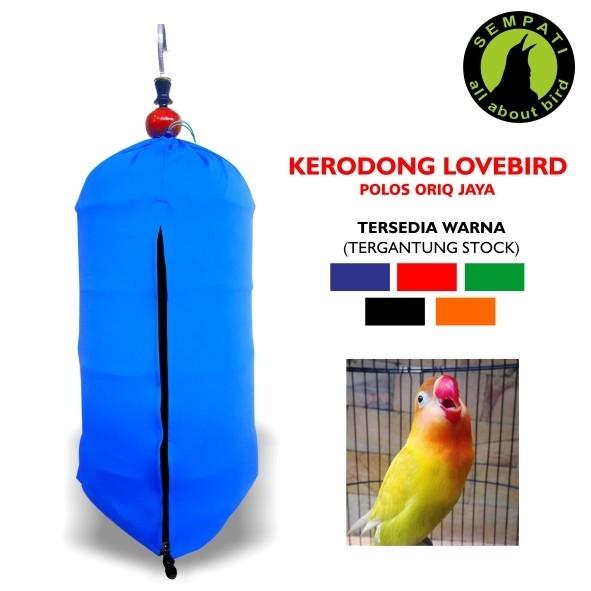 ... harga Kerodong sangkar burung kaos lomba lovebird polos oriq jaya ja18 Tokopedia.com