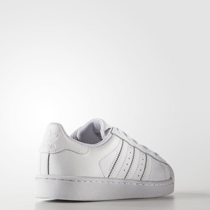 Jual Sepatu Adidas ORIGINAL Superstar Foundation Full White wanita ... 2a95d2bceb
