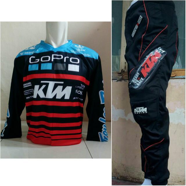 harga Promo termurah jersey orange celana setelan trail cross motocross ktm Tokopedia.com